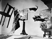 Philippe Halsman of Salvador Dali