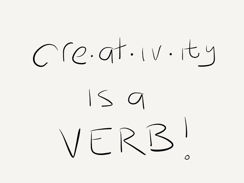 Formula of creativity
