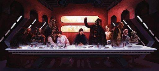 star wars Last-Supper