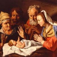 anna and christ child
