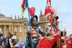19/08/17. Knights and jousting at Blenheim Palace. Picture: John Lawrence 07850 429934